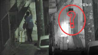 [영상] 한밤중 담벼락 오른 남성…뭘 훔쳤나 봤더니?