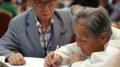 Los surcoreanos ancianos regresan a casa tras mantener reuniones emotivas con su..