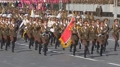 Las imágenes vía satélite muestran un ensayo de desfile militar en Corea del Nor..
