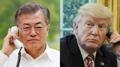 Moon et Trump réaffirment vouloir dénucléariser la Corée du Nord et la paix sur ..