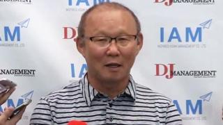 [현장연결] 베트남 4강 신화 쓴 박항서 감독, 휴가차 귀국