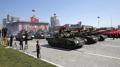 Parade militaire pour le 70e anniversaire de la Corée du Nord, sans ICBM