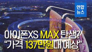 """아이폰XS '플러스' 아닌 '맥스', """"가격 137만원 예상"""""""