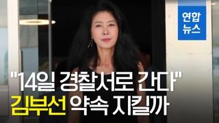 [영상] 변호사 선임한 김부선, '14일 출석' 약속 지킬까?