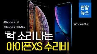 [영상] 비싼 아이폰XS 수리비도 '역대급'