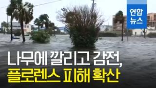 [영상] 허리케인에 최소5명 사망…미국 남동부 피해확산