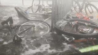 미국 남동부 허리케인 강타…물폭탄에 최소 5명 사망