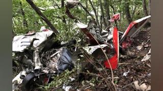 전북 완주 야산에 경비행기 추락…2명 사망