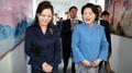 Les Premières dames des Corées visitent un hôpital pour enfants et une école de ..