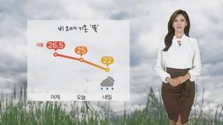 [날씨] 구름많고 늦더위 주춤…오후 남해안ㆍ제주 비