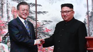 """[녹취구성] 문 대통령 """"비핵화 방안 첫 합의"""" 김 위원장 """"올해 안 서.."""