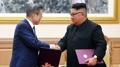 Los líderes de ambas Coreas acuerdan eliminar todas las amenazas de guerra en la..