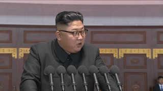 """[영상] 김정은 북한 국무위원장 """"이순간 훌륭한 화폭으로 기록"""""""