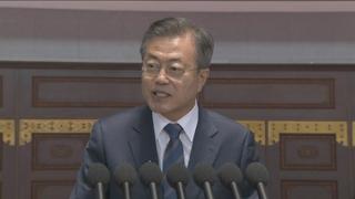 [녹취구성] 문 대통령, 15만 평양시민 앞에서 연설