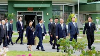 여야 대표와 기업총수들도 '평화ㆍ번영' 밑그림