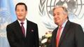 Entrée en fonction du nouvel ambassadeur de Corée du Nord auprès de l'ONU