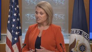 미 국무부 '선 비핵화-후 보상' 원칙 재확인
