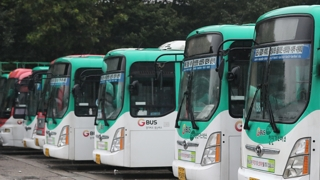 수원 버스 용남고속 파업 철회…협상 극적 타결