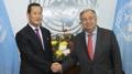El nuevo embajador norcoreano ante la ONU expresa su voluntad de cooperar con el..