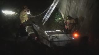 서초구 내곡터널 인근 도로서 추돌사고…3명 부상