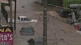 '물벼락' 멕시코 북부 비상사태…3명 사망ㆍ3명 실종
