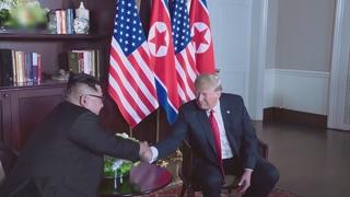 """트럼프 """"이틀전 김위원장에게서 멋진편지…급할 건 없어"""""""