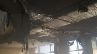 김해 롯데워터파크 목욕탕 화재…70여 명 긴급대피