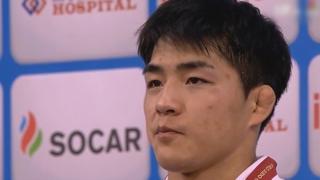 유도 안창림, 세계선수권 금메달…일본 최강 하시모토에 한판승