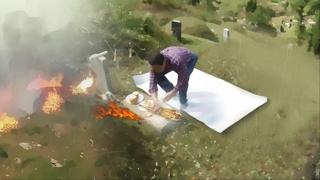 북어포 태우다 산불 내…성묘 갔다가 징역형