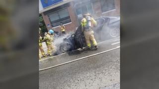 [사건사고] 주행 중이던 BMW 또 화재…선박 기름 유출도