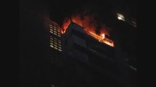경기도 군포 아파트서 화재…주민 50여명 대피
