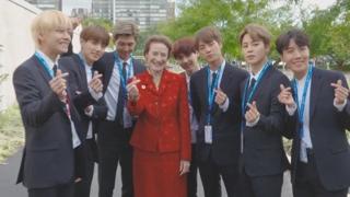 유엔무대 밟은 BTS…2030세대에 '진솔 메시지'