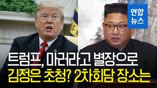 [영상] 트럼프, 마러라고 별장에 김정은 초청? 2차회담 장소는