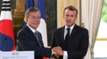 Moon dice que Francia y la ONU pueden acelerar la desnuclearización de Corea del..