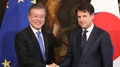 Les dirigeants sud-coréen et italien conviennent d'une mise à niveau de leurs re..