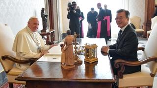평양공동선언 한달…교황 '방북 결정' 하이라이트