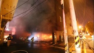 안타까운 원룸 화재…사망ㆍ중상자 외국인 어린이