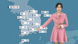 [날씨] 내일 중서부 먼지 '나쁨'…낮 20도 안팎