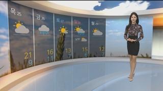 [날씨] 전국 비구름대 물러가고 쾌청한 하늘…아침 서울 8도