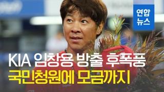 [영상] KIA 임창용 방출 후폭풍…국민청원에 모금까지