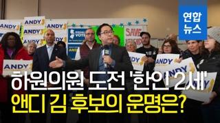 [영상] 미 연방하원의원 도전한 '한인 2세' 앤디 김…막판 역전