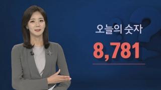 [수수께끼] 8,781…숫자로 보는 오늘의 뉴스