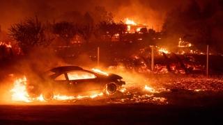 미 캘리포니아 대형 산불…30여만명 대피