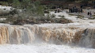 요르단 홍수로 12명 사망…페트라 출입 통제