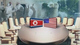 """북한 """"적대세력 발악 여전""""…북미 접점찾기 난항"""
