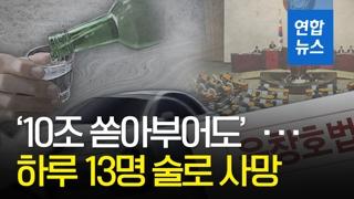 [영상] '10조 쏟아부어도'…하루 13명 술로 사망