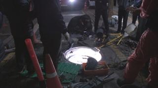 [사건사고] 광화문 맨홀서 액화천연가스 누출…인명피해 없어