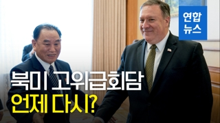 """[영상] 미 국무부 """"북미 고위급회담은 중요…일정 다시 잡히길 기대"""""""