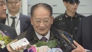 [현장연결] 북한고위급 리종혁 등 5명 도착…나흘간 체류