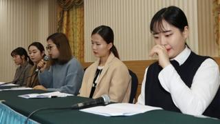 [현장연결] 내분에 빠진 컬링…팀킴 공식 기자회견